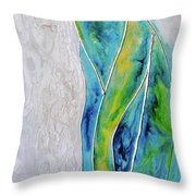 Pearl Falls Throw Pillow