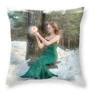Pearl Of Light Throw Pillow