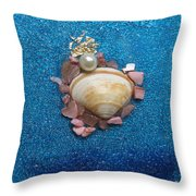 Pearl Of The North Sea Sylt No 2 Throw Pillow