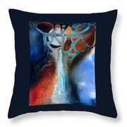 Pearl Of The Orient Throw Pillow