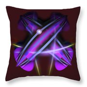 Pearl Of The Quarter Throw Pillow