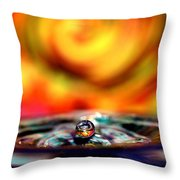 Pearl Water 2 Throw Pillow