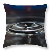 Pearl Water Drop - From Sink Throw Pillow