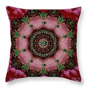 Pearls Dedicated To Beautu Throw Pillow