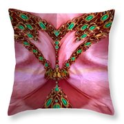 Pearls Dedicated To Love Throw Pillow
