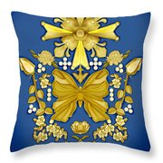 Pearls In Heaven Throw Pillow