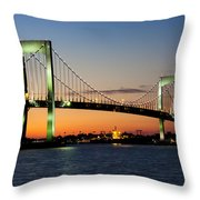 Pearls In The Sky Throw Pillow