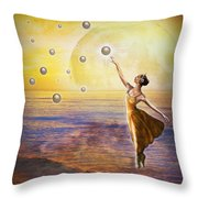 Pearls Of Heaven Throw Pillow