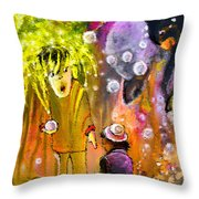 Pearls Pearls Pearls Throw Pillow