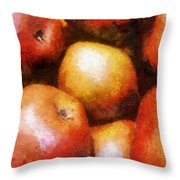 Pears D'anjou Throw Pillow