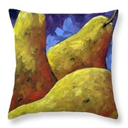 Pears For You Throw Pillow