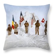 Peary Expedition, 1906 Throw Pillow