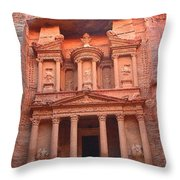 Peatra The Royal Tomb Throw Pillow