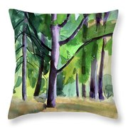 Peavy In September Throw Pillow