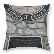 Pebble Beach National Pro-am I Throw Pillow