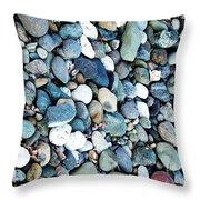 Pebbles 03 Throw Pillow