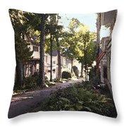 Peck Street Throw Pillow