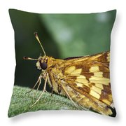 Peck's Skipper Throw Pillow