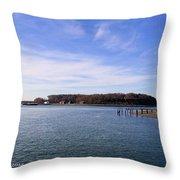 Peddocks Island Throw Pillow