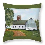 Pedersen Barn Throw Pillow