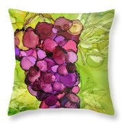 Peel Me A Grape Throw Pillow