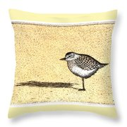 Peep Throw Pillow