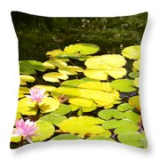 Peeping Throw Pillow