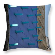 Peg Board Throw Pillow