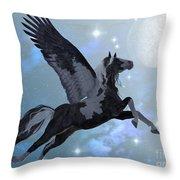 Pegasus Flight Throw Pillow