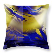 Pegasus From Above Throw Pillow
