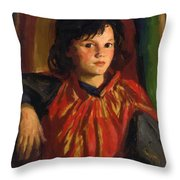 Pegeen 1926 Throw Pillow
