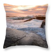 Peggy's Cove - Nova Scotia Throw Pillow