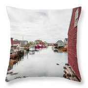 Peggys Cove 2 Throw Pillow