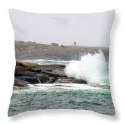 Peggys Cove Lighthouse 6127 Throw Pillow