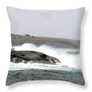 Peggys Cove Lighthouse 6138 Throw Pillow