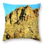Peggy's Mountain Throw Pillow