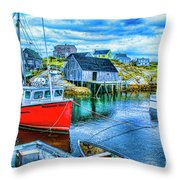 Peggy's Two Throw Pillow