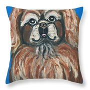 Peke For You Throw Pillow