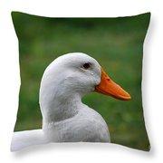Pekin Duck 20120507_142 Throw Pillow
