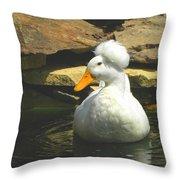 Pekin Pop Top Duck Throw Pillow