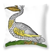 Pelican, 1560 Throw Pillow