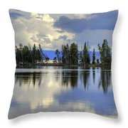 Pelican Bay Morning Throw Pillow