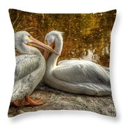 Pelican Bay  Throw Pillow