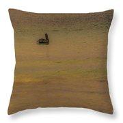 Pelican Drift Throw Pillow