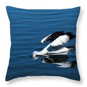Pelican Fishing 666 Throw Pillow