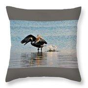 Pelican Landing Throw Pillow
