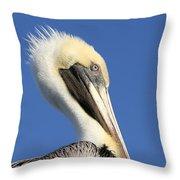 Pelican Mohawk Throw Pillow
