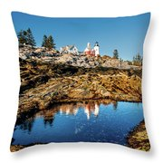 Pemaquid Reflection Throw Pillow