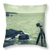 Pembrokeshire Coast National Park 2 Throw Pillow