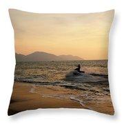 Penang Sunset Throw Pillow